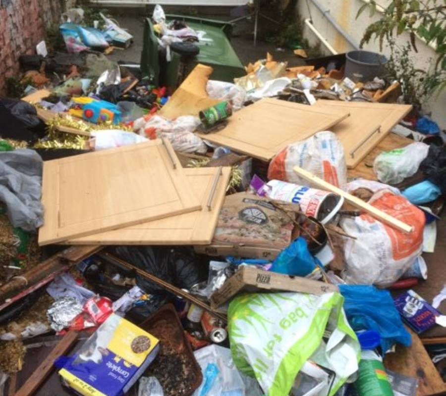 General Waste and Rubbish Removal in Carlisle, Cumbria and Scotland